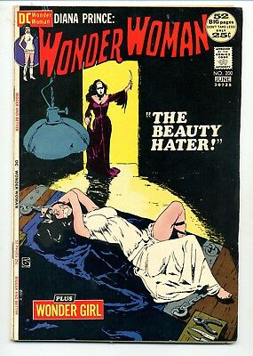 Wonder Woman #200    The Beauty Hater     Jeff Jones Cover