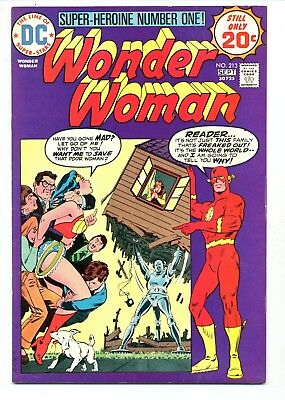 Wonder Woman #213    DC 1974