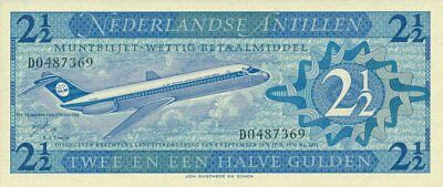 Netherlands Antillen Netherlands  2 1/2 Gulden 1970   Gem U