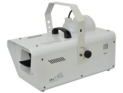 Qtx Snow Machine 1200W Dmx Used Only Once