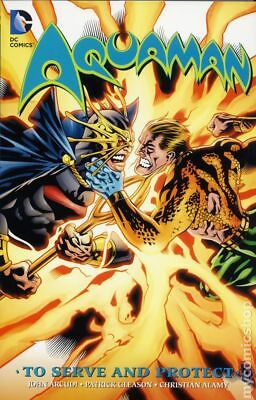 Aquaman To Serve and Protect TPB (DC) #1-1ST 2016 NM Stock Image