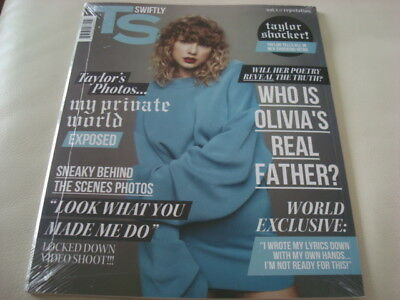 TAYLOR SWIFT – REPUTATION New CD + Magazine Volume 1 (Canada) Sealed
