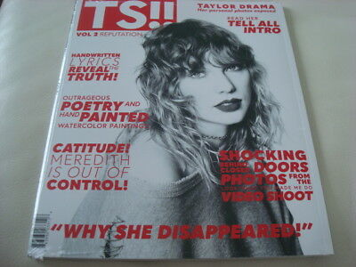 TAYLOR SWIFT – REPUTATION New CD + Magazine Volume 2 (Canada) Sealed