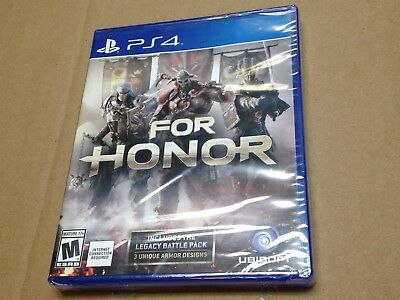 For Honor Sony PlayStation 4 PS4 New Factory Sealed Complete *Internet Required