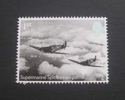 Great Britain 2018 R.a.f Centenary Spitfires On Patrol Unmounted Mint, Mnh
