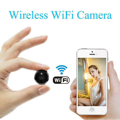 Wireless Mini Wifi Spy Hidden Camera IP HD 1080P DVR Home Security Night Vision
