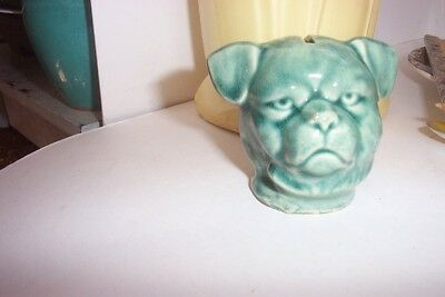 Dog Bank Fine Example Of An Early  Century Pottery Bank.  Continental  Austria C