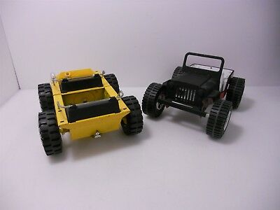 VTG Pressed Steel Nylint Twister & Tonka Red Buggy Jeep