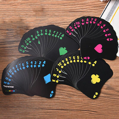 Playing Poker Cards Cards Deck Playing Luminous Cards Board Game Night Poker s!