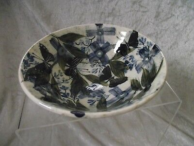 Gwili Pottery BOWL Hand Decorated.