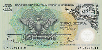 2 KINA AUNC-UNC  POLYMER BANKNOTE FROM PAPUA NEW GUINEA 2002!PICK-16d
