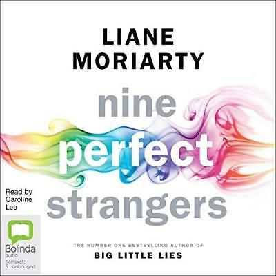Nine Perfect Stangers By Liane Moriarty (audio book, e-Delivery)
