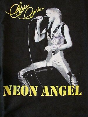 2000 Cherie Currie Neon Angel Collector T-Shirt Signed! Mint! Rare!