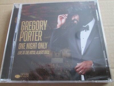 Gregory Porter - One Night Only - Royal Albert Hall [2 CD  2018] NEW AND SEALED