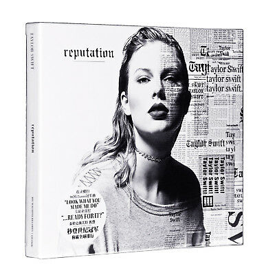"Taylor Swift - Reputation - NEW CD (sealed) 2018   ""Look What You Made Me Do"""