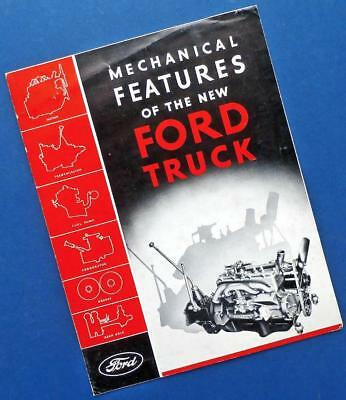 "1932 FORD TRUCK brochure: ""Mechanical Features"""