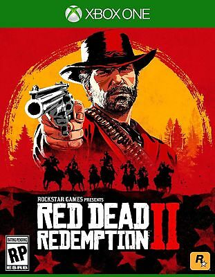 Red Dead Redemption 2 - Standard Edition Xbox One New Sealed fast shipping
