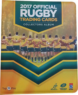 RUGBY UNION - 2017 Trading Cards Official Collectors Album (Tap 'N' Play) #NEW