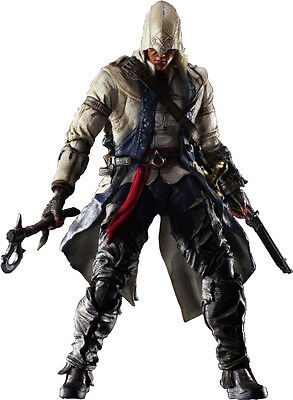 """ASSASSIN'S CREED 3 - Connor 10"""" Play Arts Kai Action Figure #NEW"""