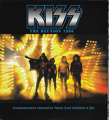 KISS - 'My Access' Commemorative Interactive Phone Card Collector's Set (7)