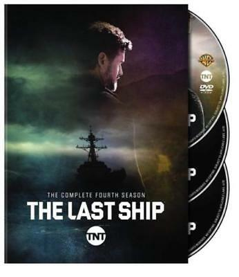 The Last Ship Complete Fourth Season 4 (DVD,2018,3-Disc Set) NEW