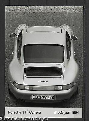 PRESS - FOTO/PHOTO/PICTURE - Porsche 911 Carrera 1994