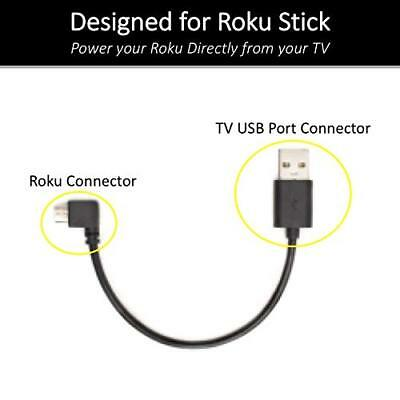 Roku Mini USB Cable Designed to Power Your Roku Streaming Stick