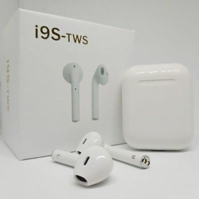I9S TWS Wireless 5.0Bluetooth Earbuds Earphone For iPhone IOS Android Headphones