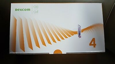 Dexcom G4 /G5 Sensors - Box Of 4 unopened