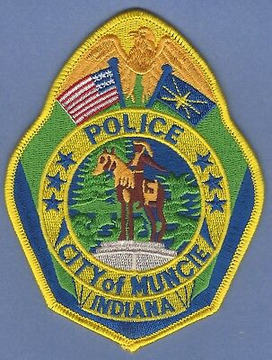Muncie Indiana Police Patch