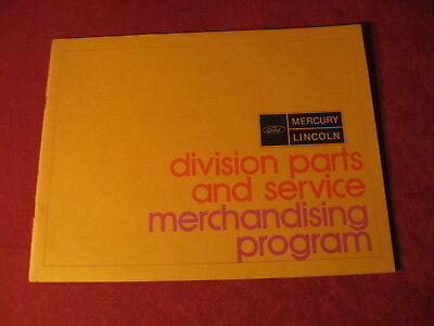 1971 Ford Merchandising Sales Brochure Dealership Old original Booklet Book