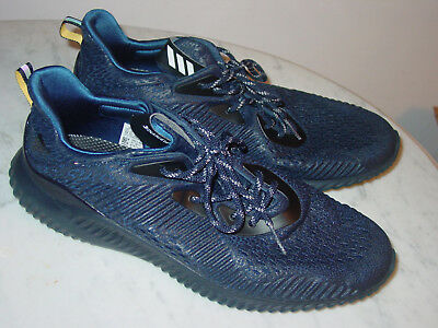 398e7fd23 2017 Mens Adidas Alphabounce AMS BW1127 Mystery Blue Running Shoes! Size 13