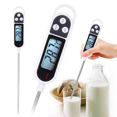 1PC Useful Digital Food Thermometer BBQ Cooking Water Measure Probe Kitchen Tool