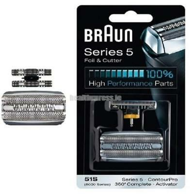 Series Braun₃Activator 51S Replacement Foil & Cutter - 360 Series 5 and 8000