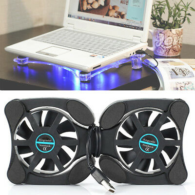 Adjustable Cooling Pad Radiator Notebook Cooling Fan Stand Cooler For Laptop PC