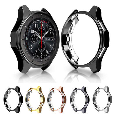 Slim Electroplated TPU Watch Case Protector for Samsung Gear S3 Watch Cover 1PC