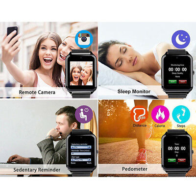 Bluetooth Smart Watch Phones Z60 Smartwatch Stainless Steel for Samsung Android