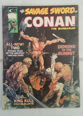 Savage Sword of Conan the Barbarian Vol. 1. Issue # 3 Marvel Comics 1974