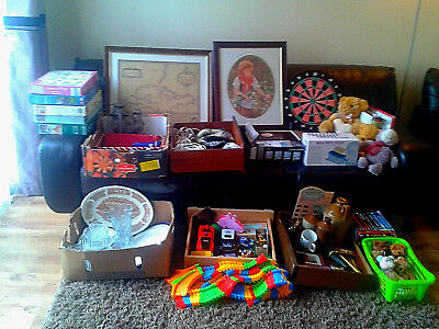 Car Boot Joblot, Mixed Lot from House Clearance, Toys, DVDs, Books, Collectables