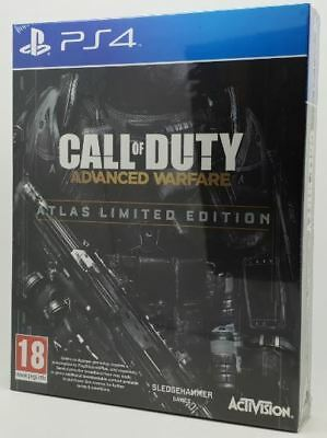 Call of Duty Advanced Warfare Atlas Limited Edition PS4 Game Brand New Sealed