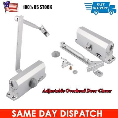 45-65KG Heavy Duty Aluminum Commercial Door Closer Two Independent Valve Control