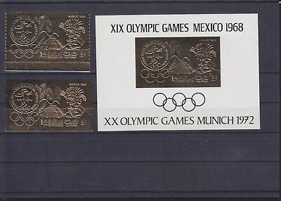 069871 Olympic Games Olympia Sharjah Stamps Briefmarken ** MNH
