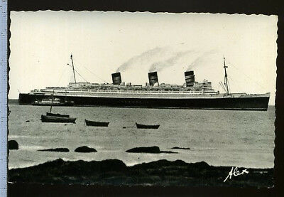 N°123 Carte Postale  Paqubot Le Queen Mary