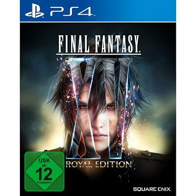 Final Fantasy XV 15 Royal Edition Sony PS4 Rollenspiel Playstation 4 NEU&OVP