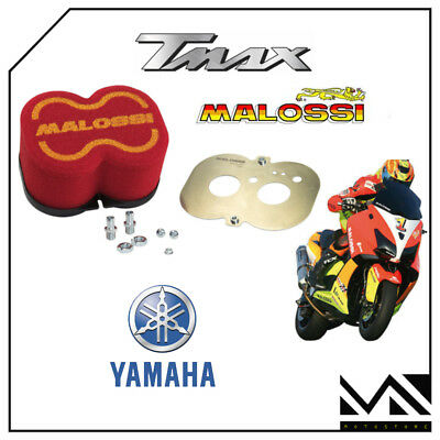 MALOSSI 0417225 FILTRO ARIA RED FILTER E19 RACING YAMAHA TMAX 530 ie 4T LC 2012