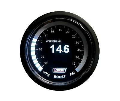 52mm Prosport Wideband Air Carburant Ratio et Boost Jauge