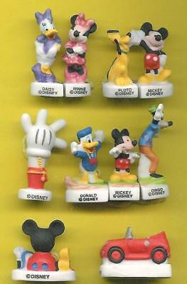 FEVES DISNEY  MICKEY MOUSE CLUB HOUSE  série complète  ..ref.W04