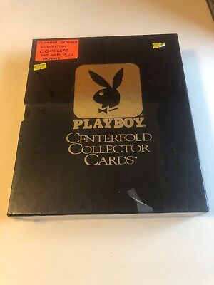 Playboy Centerfold Collector Cards October Edition Sealed New In Package