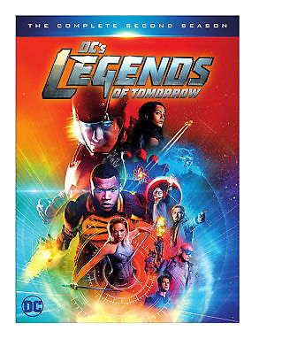 DC'S LEGENDS OF TOMORROW: The Complete Second/2nd Season 2/Two 2017 DVD (VG)
