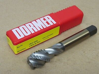 Dormer E002 M20 x 2.5 HSS Powdered Metal MTTX GOLD Spiral Flute Machine Tap